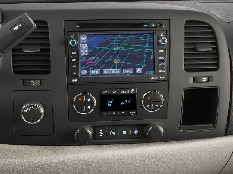 Navigation System In Truck : Simplesoft nav unit install chevy truck forum silverado