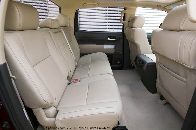 2007 Toyota Tundra Crewmax Pictures And Information