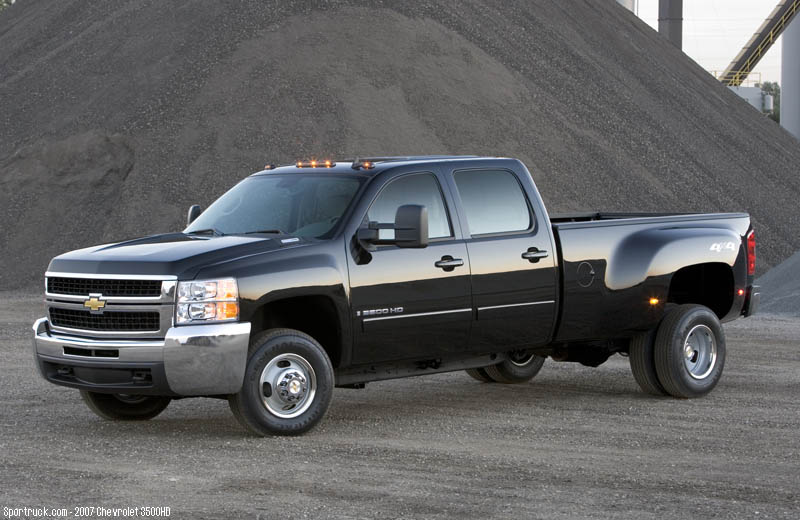 2007 Chevrolet 2500HD and 3500HD Heavy Duty Silverado ...