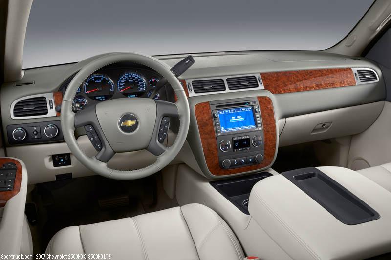2007 Chevrolet 2500hd And 3500hd Heavy Duty Silverado
