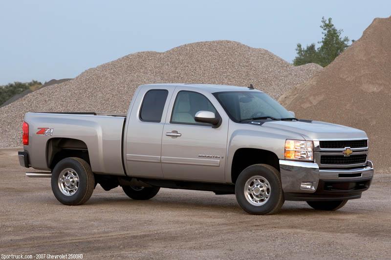 2007 Chevrolet 2500HD and 3500HD Heavy Duty Silverado ...