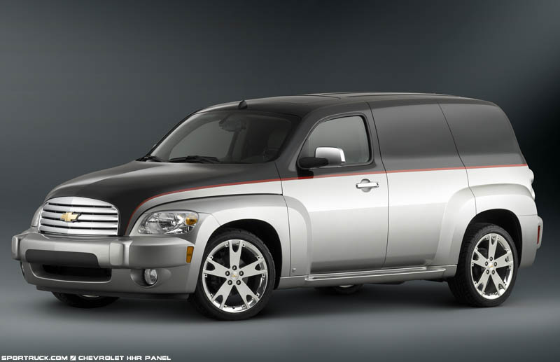2007 Chevrolet Hhr Panel Wagon - Pictures And Information