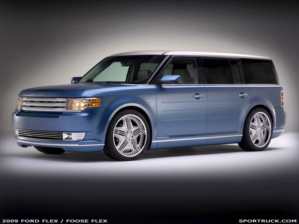 What Is A Rocker Panel >> 2009 Ford Flex - Funkmaster Flex2 and Foose Flex Editions ...